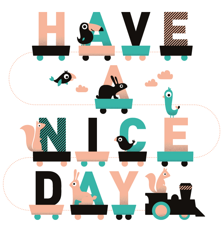 Have a nice day image